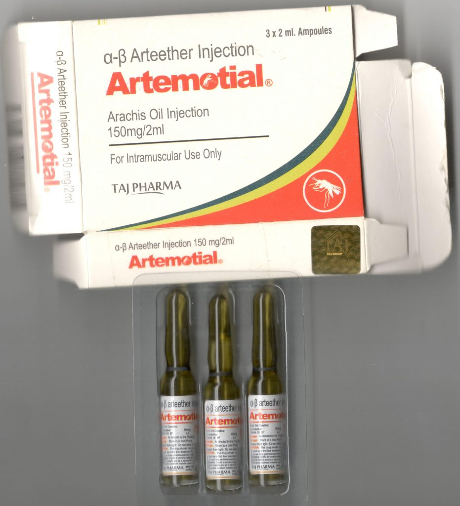Antimalarial Drugs - Alpha Beta Arteether Injection