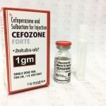 CEFOPERAZONE AND SULBACTAM FOR INJECTION (CEFOZONE- FORTE-1 GM)