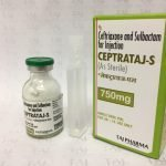 CEFTRIAXONE AND SULBACTAM FOR INJECTION (CEPTRATAJ-S 750 MG)