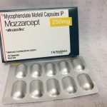 MYCOPHENOLATE MOFETIL CAPSULES IP 250MG(MOZZARCEPT 250MG)