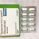 MYCOPHENOLATE MOFETIL CAPSULES IP 500 MG(MOZZARCEPT 500MG )