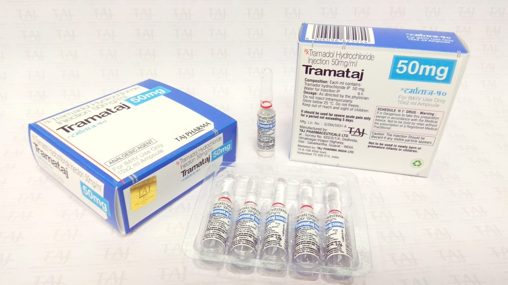 Tramadol 50mg/ml Solution for Injection or Infusion - Tramataj