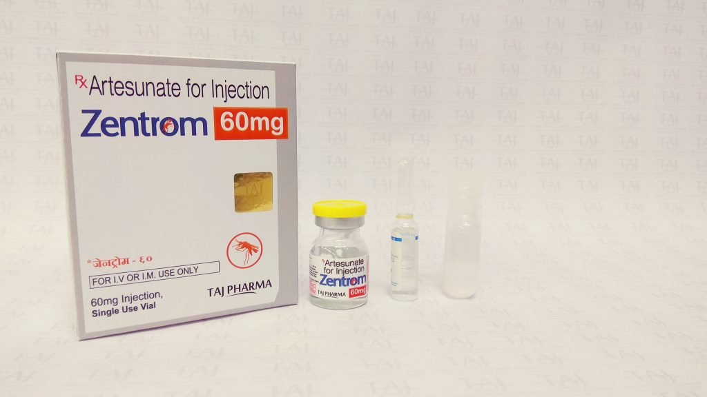 Artesunate for Injection - Zentrom for resistant malaria