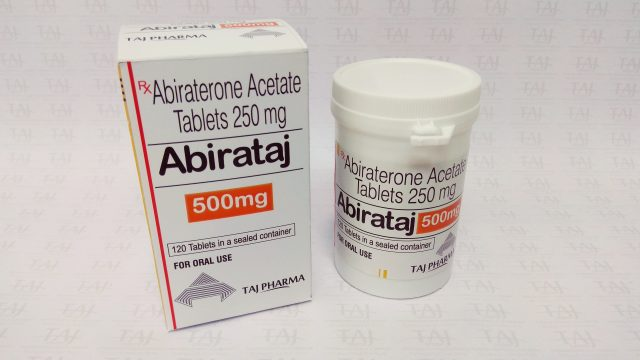 Abiraterone Acetate Tablets-500mg-Taj Pharma