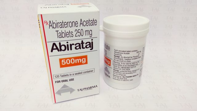 Abiraterone Tablets 500mg-Abirataj-Taj Pharma