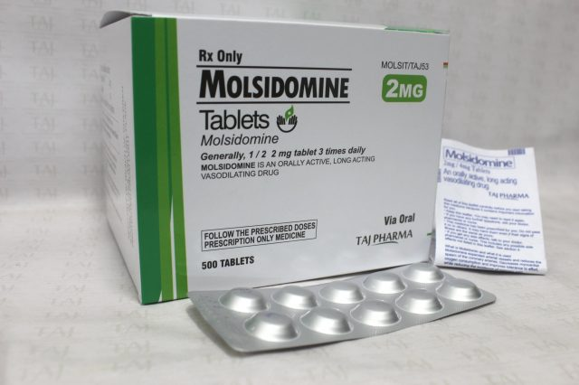 Molsidomine Tablets 2mg Taj