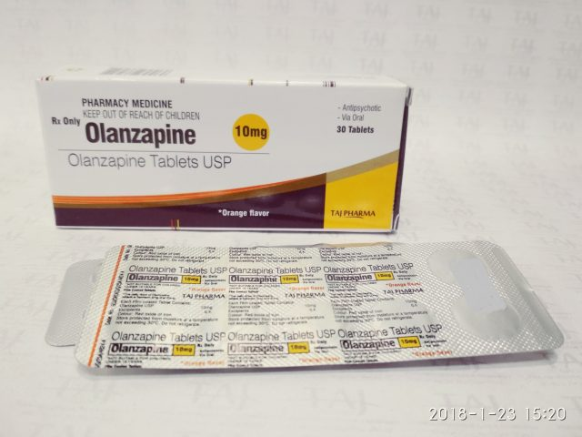 Olanzapine Tablets -10 mg