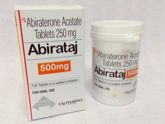 Abiraterone Acetate Tablets USP 500mg Taj Pharma