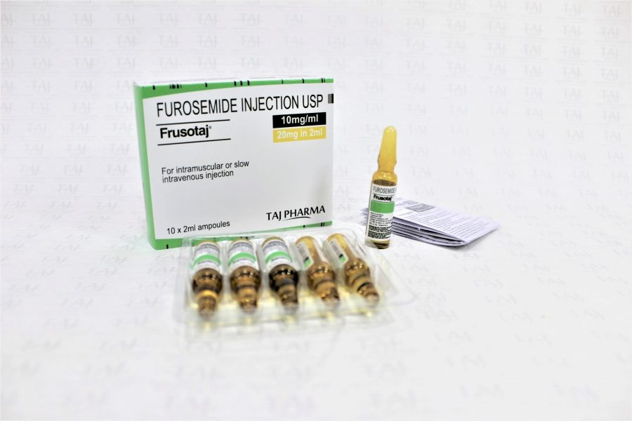 Furosemide Injection USP 20mg/2mL (10mg/mL)