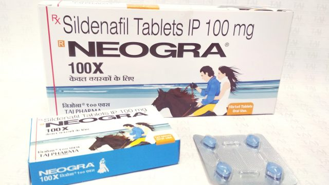 Sildenafil Citrate IP 100mg Tablets (NEOGRA) Taj Pharma