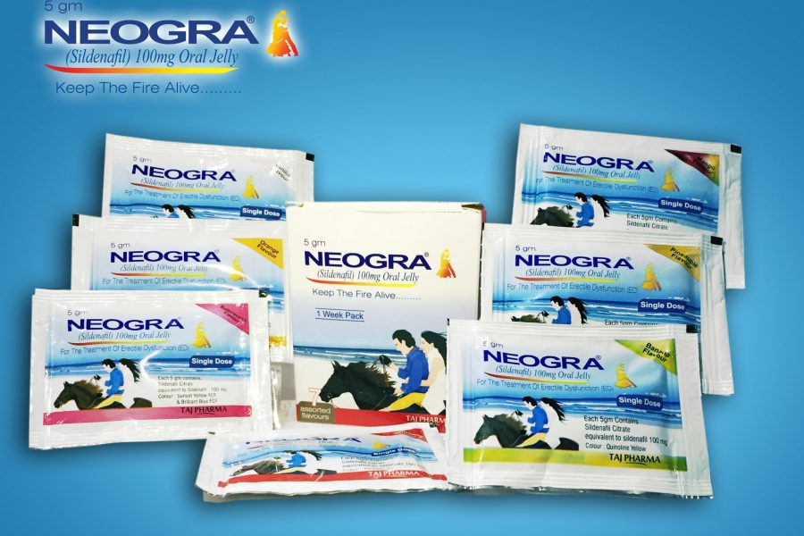 Neogra Oral Jelly (Sildenafil Citrate) Erectile dysfunction