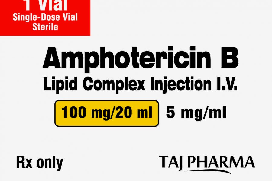 Amphotericin B Lipid Complex Injection 100mg/20ml Taj Pharma