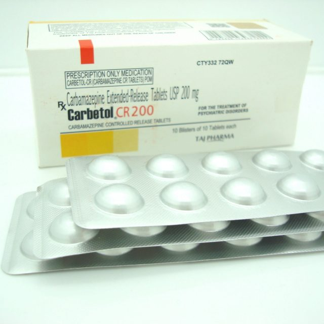 Carbamazepine CR Tablets USP 200mg Taj Pharma