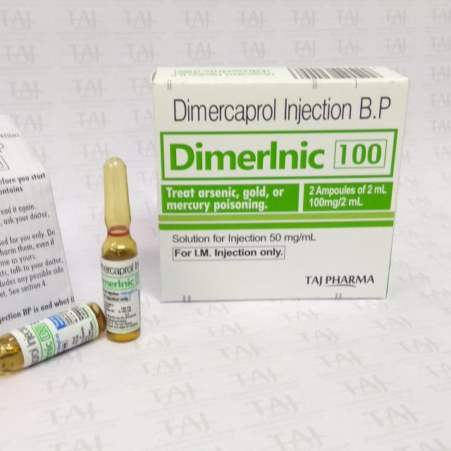 Dimercaprol 50 mg/ml Injection BP