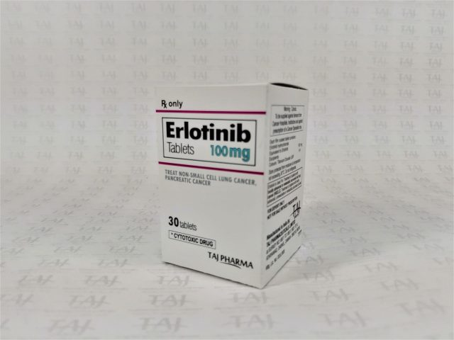 Erlotinib Tablet USP 100 mg Taj Pharma