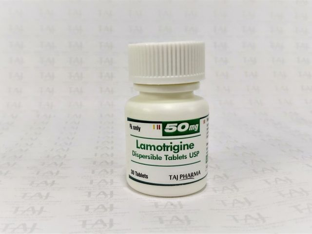 Lamotrigine 50mg Dispersible Tablets Taj Pharma
