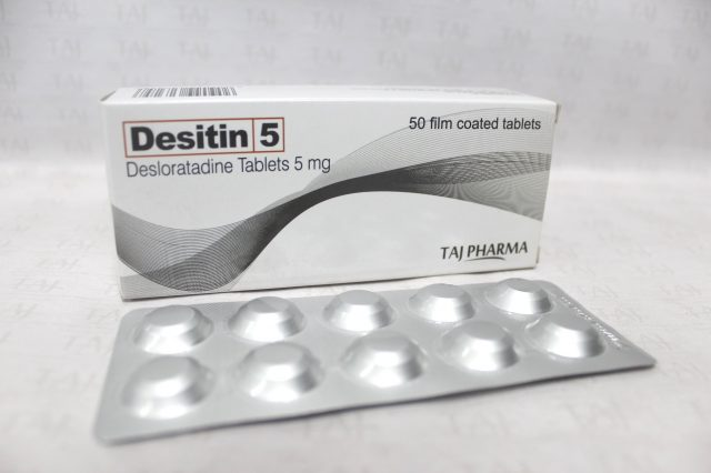 Desloratadine Tablets 5mg Taj Pharma