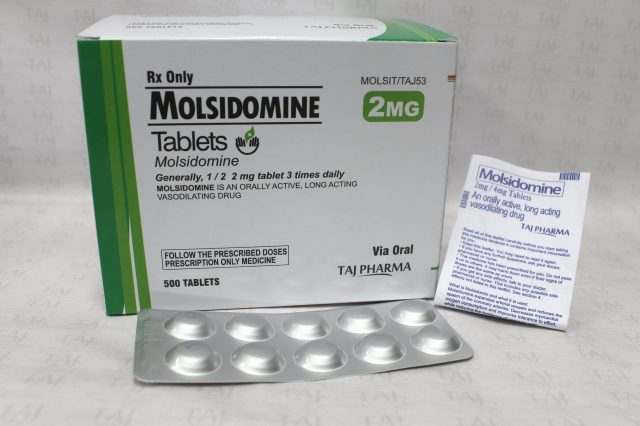 Molsidomine Tablets 2mg Taj Pharma