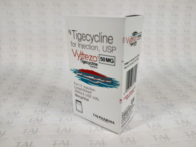 Tigecycline 50 mg powder for infusion Taj Pharma