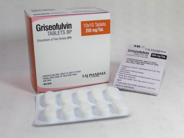 Griseofulvin Tablets USP 250mg Taj Pharma