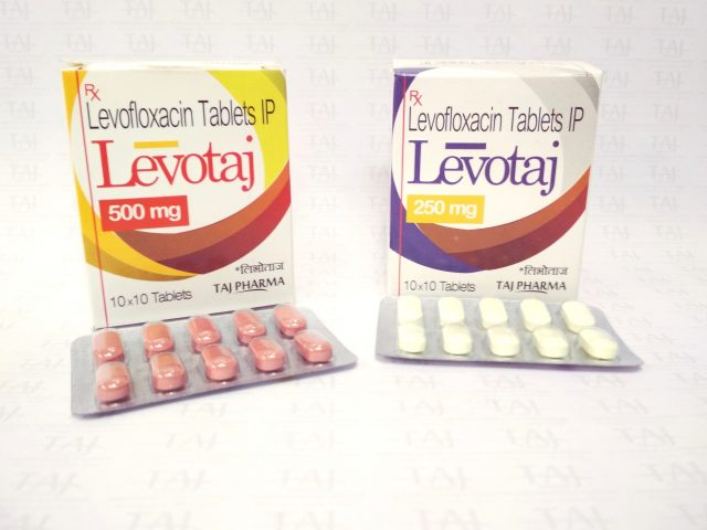 Levofloxacin Tablet IP 250mg (LEVOTAJ) Taj Pharma
