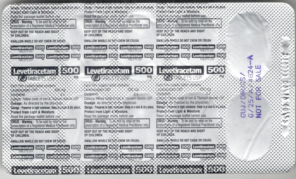 what is levetiracetam 500 mg used for ?