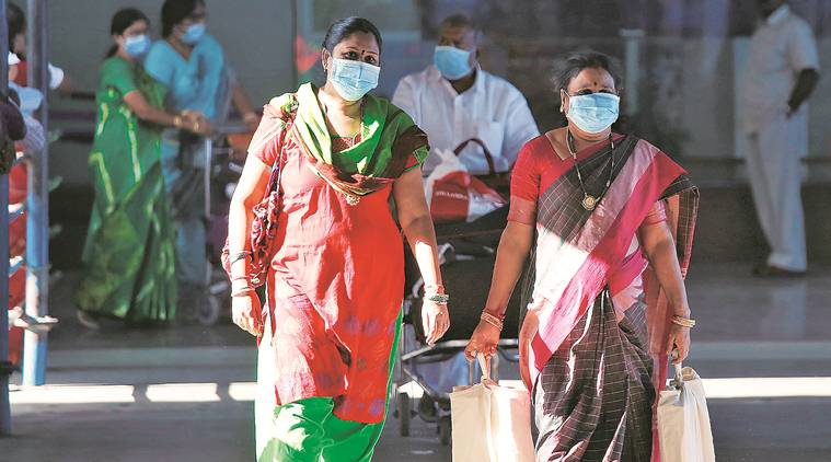 Surgical masks can protect you from airborne bacteria and virus. (Source: Reuters)